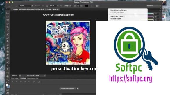 Adobe Photoshop CS6 Crack + Serial Key [Torrent] Download