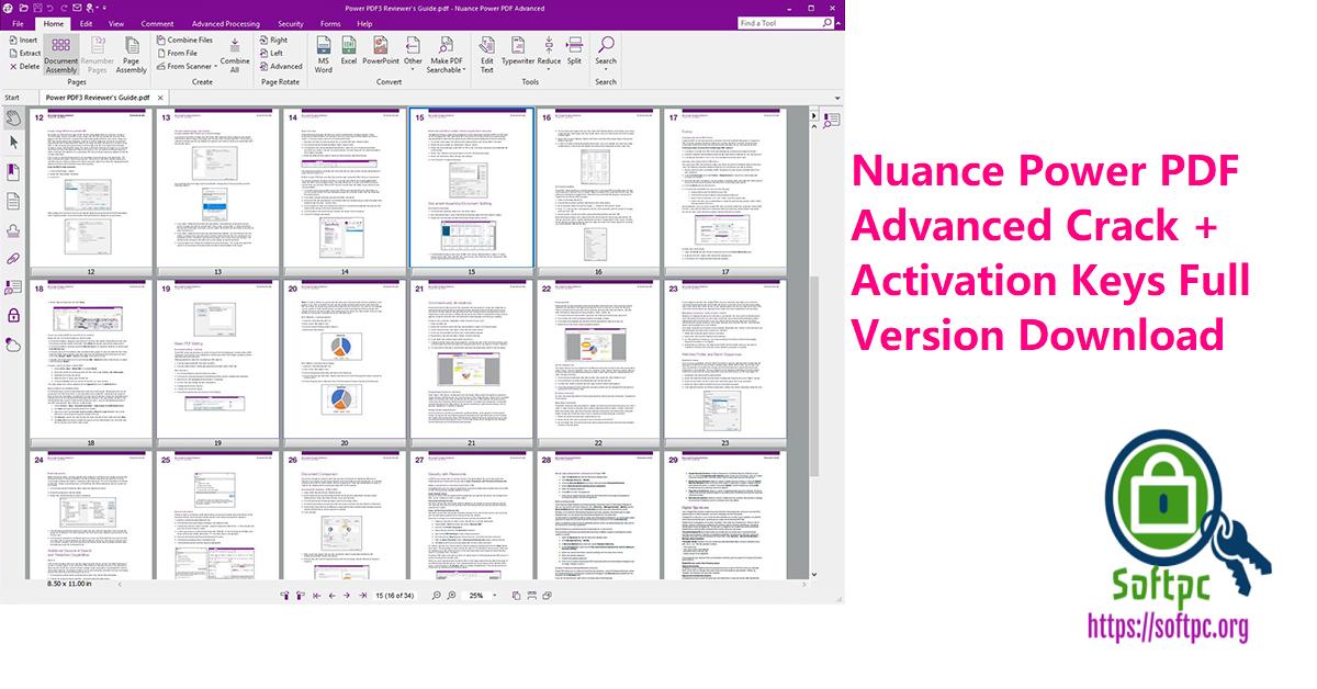 Nuance Power PDF Advanced Crack