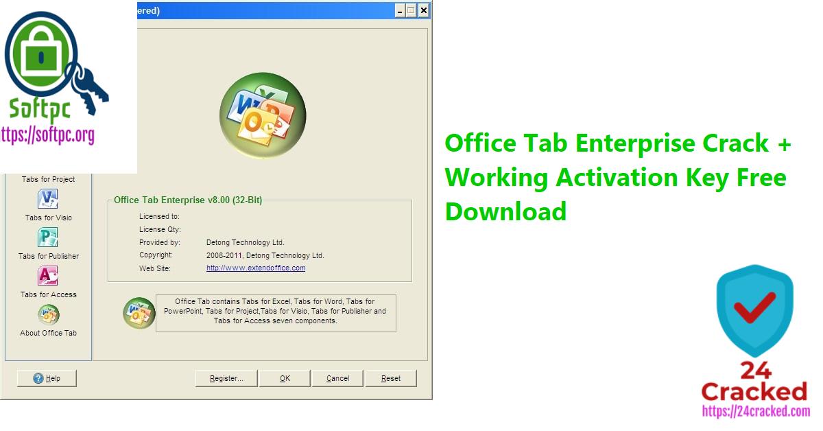 Office Tab Enterprise Crack + Working Activation Key Free Download