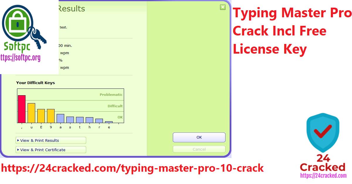 Typing Master Pro Crack Incl Free License Key