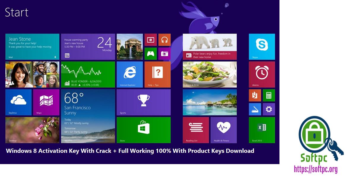 Windows 8 Activation Key