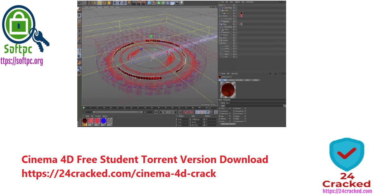 cinema 4d free Student torrent version download